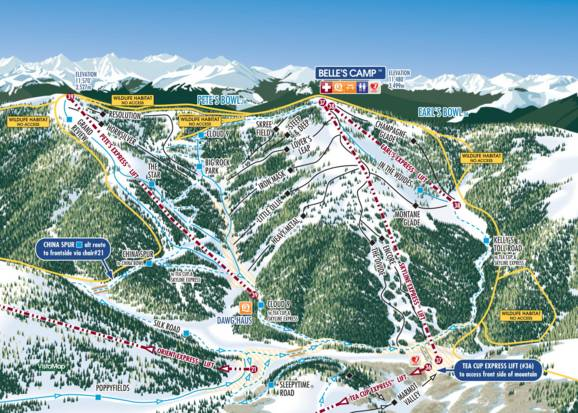 Vail slopes guide