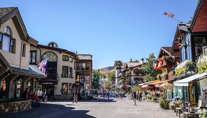 Vail in the summer